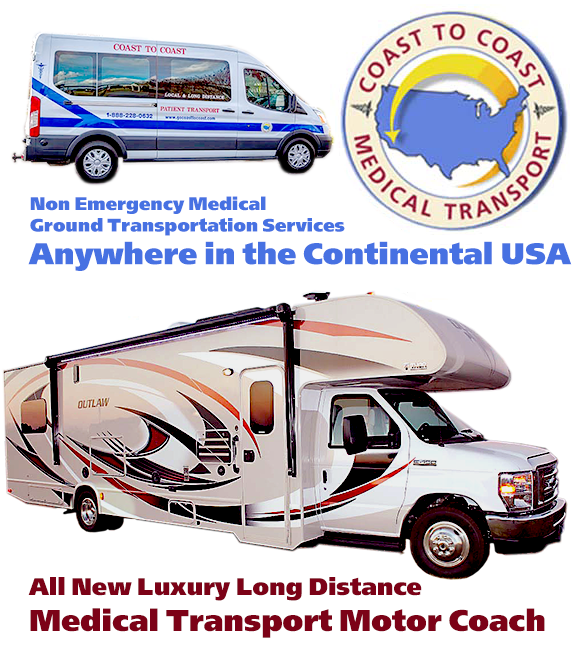 long distance medical transport non emergency coast to coast